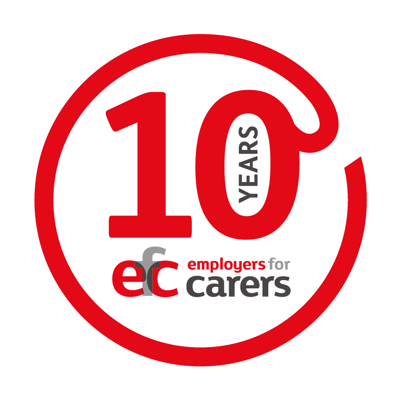 EFC 10th Logo main dark grey