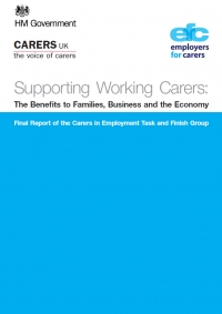 Supporting working carers: The benefits to families, business and the economy