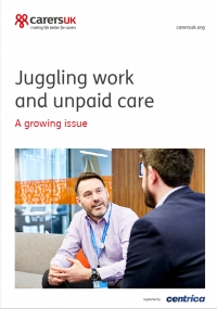 Juggling work and unpaid care: a growing issue