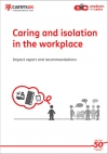 Caring and isolation in the workplace